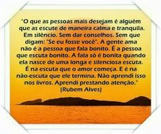 Ouça Rubem Alves