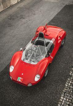 Maserati Tipo 60/61 'Birdcage'.