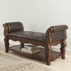 Carnearney Upholstered Bedroom Bench