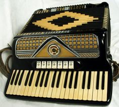Vintage Accordian Had 4 cousins (brothers) who were forced to play.  Oh my, the endless concerts we endured at every family gathering.