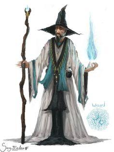 Wizard Concept by JoshuaNel.deviantart.com on @DeviantArt