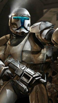 Star wars clone trooper – choose the size of wallpaper Star Wars Clone Wars, Star Wars Boba Fett, Star Wars Baby, Theme Star Wars, Images Star Wars, Star Wars Pictures, The Old Republic, Clone Trooper, Star Wars Wallpaper