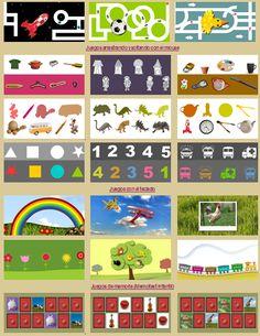 Actividades para Educación Infantil: Manejando el ratón con muchos juegos