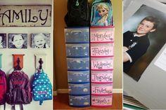 10 petites astuces pour vous aider à bien organiser l'année scolaire!