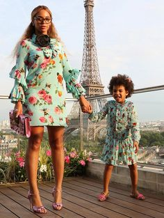 Beyoncé and Blue Ivy #TheExpectantEdit #Twinning