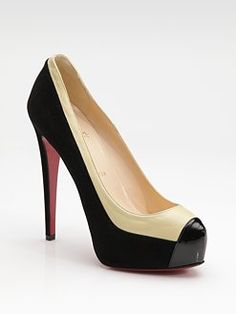 Louboutin. I love simplicity. Perfect for on the job.