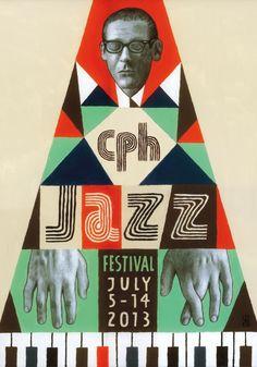 Copenhagen Jazz  Festival 2013 by Soren Behncke Sencillamente G E N I A L, no creen? ^.^