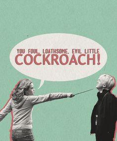 You tell 'em, Hermione.