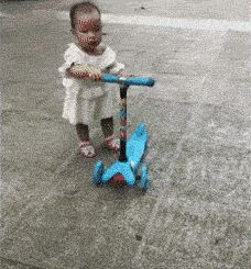Correct demonstration of the scooter | Funny Pictures, Quotes, Pics, Photos, Images