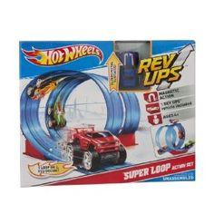 Hot Wheels Rev Ups Super Loop Action Set