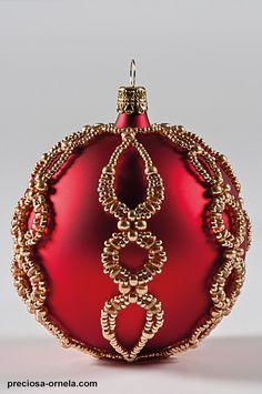 beaded christmas ornaments   project christmas ornament with twin 03 Beaded Christmas Ornaments To ...