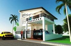 Plan Purchase Sets of Blueprint Signed & Sealed) - Only Construction Contract - P Low-End/Budget P Construction Contract, New Home Construction, Villa Design, Floor Design, 2 Storey House Design, Modern House Plans, Home Design Plans, Architecture Plan, Model Homes