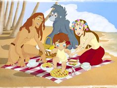 What Disney Family Do You Belong In? Tarzan Family Your family may not be blood but they are still your family. They mean everything to you and help you become the person you are. You may become more like them in the end-following their beliefs.. but they let you grow to be who you want to be.
