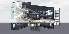 "Manuelle Gautrand to Revamp Paris' Alésia Cinema with Hundreds of LED ""Pixels"""