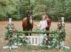 Equestrian Fall Wedding Inspiration at Baker Creek Farm - Chic Vintage Brides : Chic Vintage Brides Fall Wedding Shoes, Horse Wedding, Fall Wedding Flowers, Dream Wedding, Autumn Inspiration, Wedding Inspiration, Wedding Ideas, Wedding Tables, Wedding Ceremony