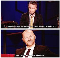 Haha, Mycroft