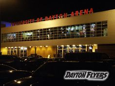 University of Dayton arena. Best place ever!!! .. my second home!