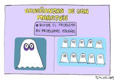 Enseñanzas de una maratón