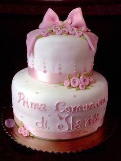 #comunione #originale  torta della pasticceria La Mimosa di http://www.simocakedesigner.it