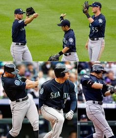 #Mariners offense erupts for 14 hits in a 10-3 rout of the Rockies. 5/19/12