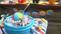 Beach Ball Birthday Bash | CatchMyParty.com