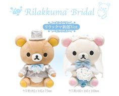 Rilakkuma <3 Korilakkuma ♪(*^^)o∀*∀o(^^*)♪ Groom <3 Bride