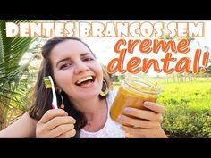 NÃO USO CREME DENTAL!! USO AÇAFRÃO! DENTES BRANCOS E LIMPOS - Fran Adorno - YouTube