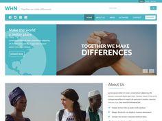 WIIN PSD Template Freebies by UniteTheme