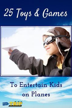 Ways to Entertain Kids on a Plane-Kids Are A Trip