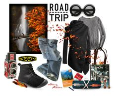 """So Fresh and So Keen: Road Trip"" by stormypeterson ❤ liked on Polyvore featuring Keen Footwear, J.Crew, Polo Ralph Lauren, roadtrip, polyvorecontest and keen"