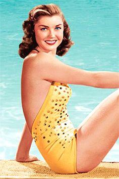 "Esther Williams, the ""million-dollar mermaid."""
