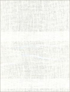 """In Calvin Fabrics' Stanza Casement in Ivory, linen gauze is shot through with clustered horizontal bands of rayon at 4 5/8"""" intervals to create a fluid, parallel stripe in a airy sheer."""
