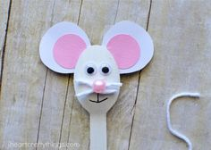 This fun wooden spoon mouse craft for kids is sure to delight the little ones in your life. Use it as a puppet to help tell their favorite mouse story.