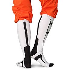 ThinkGeek :: Portal Socks I do want to be Chell for Halloween one day!