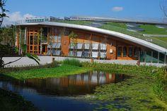 Taipei Flora Expo Pavilions,Courtesy of Bio-architecture Formosana
