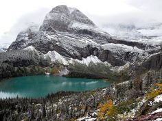 Grinnel Lake in Glacier National Park, Montana