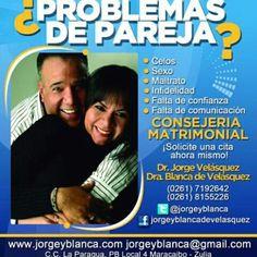 @jorgeyblancaweb #Coach #Parejas #Mentoring #Maracaibo #ExpertosEnParejas #ProblemasDePareja Deseas Terapia de Pareja?Recuerde es Previa Cita 0261-7192642, 0261-8155226-