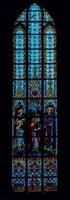 Kirchenfenster im Schweriner Dom