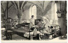 Hôpital de Royaumont, sala Blanche de Castille (1915)