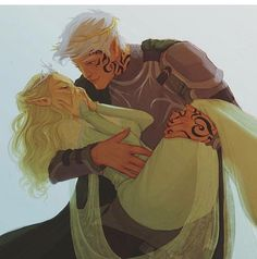 Aelin and Rowan