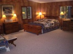 Managed by Bayside Lodging Rentals Indian Lake Tuckaway, Eagle River WI Vacation Rentals | RentWisconsinCabins.com