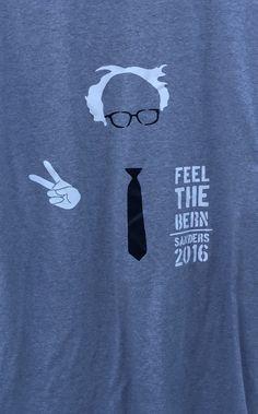 Bernie Sanders Shirt by RadDecals on Etsy