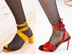 sandalias medias Peeps, Peep Toe, Shoes, Fashion, Shoe Boots, Shoes Sandals, Tights, Heels, Over Knee Socks