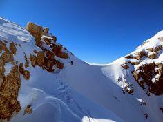 Prima discesa del Pelmetto #Dolomiti