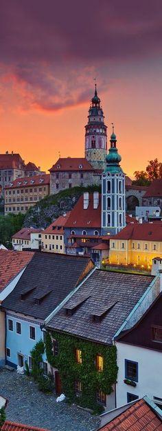 awesome Cesky Krumlov, Czech Republic...