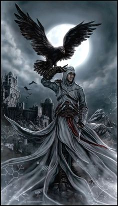 Altair - Animus Eagle by *KejaBlank on deviantART