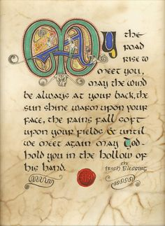 Celtic Card Company presents the illustrated manuscripts of artist Kevin Dillon