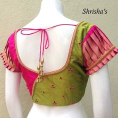 Trending blouse designs for all occasions Patch Work Blouse Designs, Best Blouse Designs, Simple Blouse Designs, Stylish Blouse Design, Blouse Back Neck Designs, Blouse Designs Catalogue, Pattu Saree Blouse Designs, Designer Blouse Patterns, Bikini