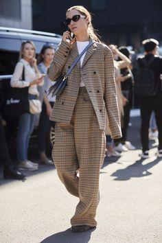 De beste streetstylelooks gespot tijdens Milaan Fashion Week