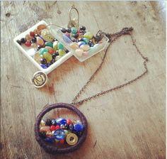 pretty necklace handmade